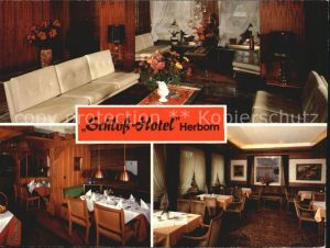 Herborn Hessen Schloss Hotel  Kat. Herborn
