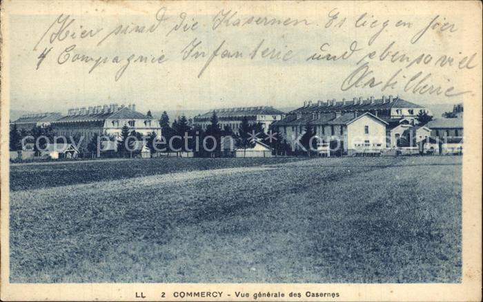 Commercy Meuse Vue generale des casernes Kat. Commercy