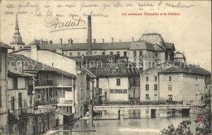Commercy Meuse Les anciennes Tanneries et le Chateau Kat. Commercy