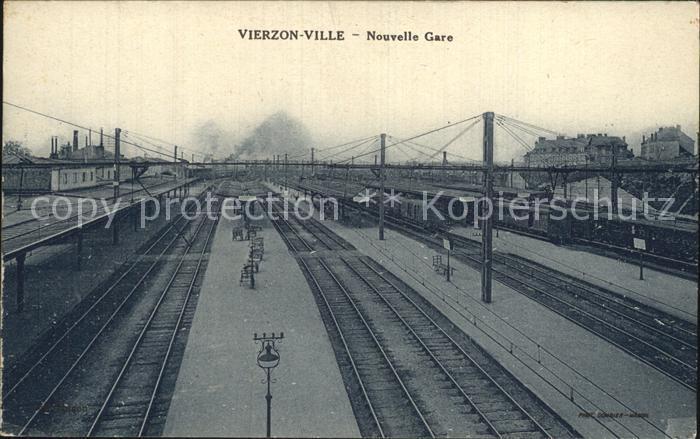 Vierzon Ville Nouvelle Gare Bahnhof