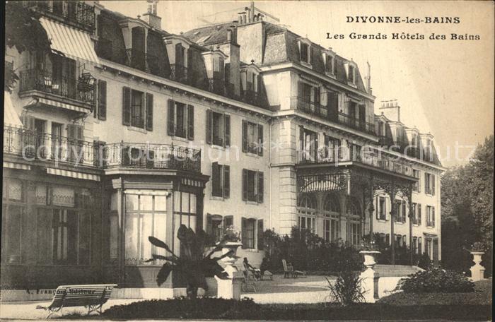 Divonne les Bains Les Grands Hotels des Bains Kat. Divonne les Bains