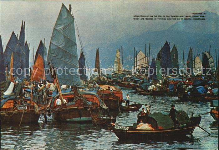 dp85647 Hongkong Floating People in Castle Peak Bay Kat. China