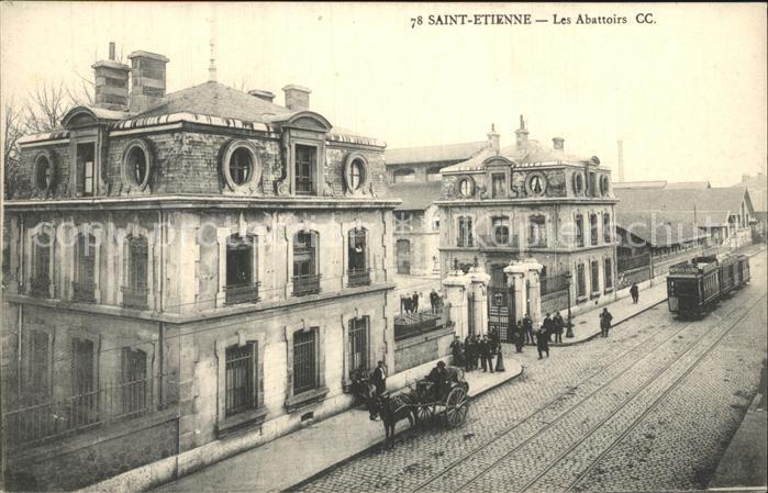 Saint Etienne Loire Les Abattoirs Kat. Saint Etienne
