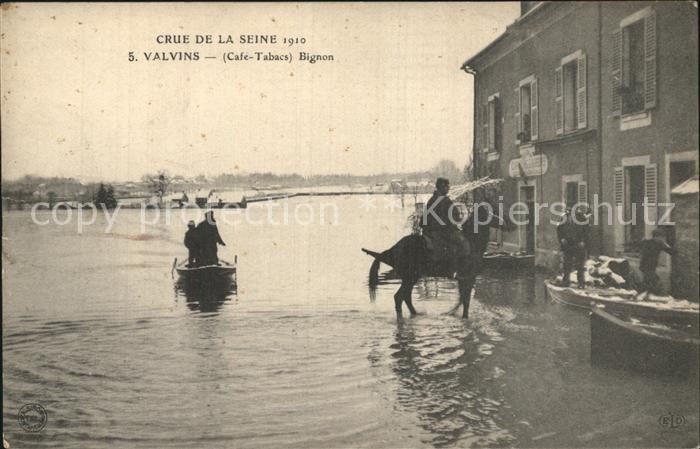 Bignon Le Crue de la Seine Kat. Le Bignon