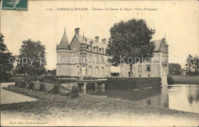 Lorrez le Bocage Preaux Chateau Kat. Lorrez le Bocage Preaux