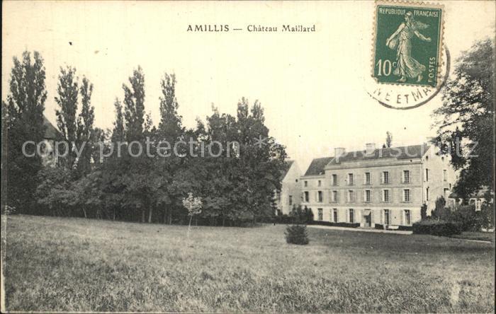 Amillis Chateau Maillard Kat. Amillis