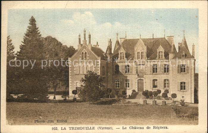 La Trimouille La Chateau de Regners Kat. La Trimouille