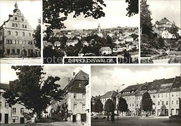 Dippoldiswalde Osterzgebirge  Kat. Dippoldiswalde