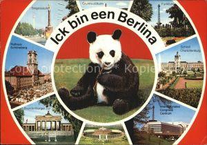 Berlin Schloss Charlottenburg Brandenburger Tor Siegessaeule  Kat. Berlin