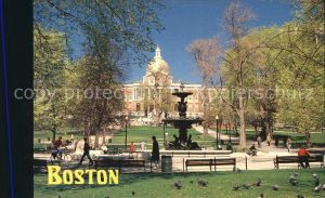 Boston Massachusetts The State House  Kat. Boston