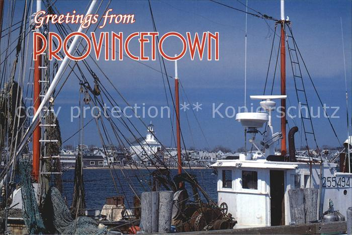 Provincetown Hafenansicht Kat. Provincetown