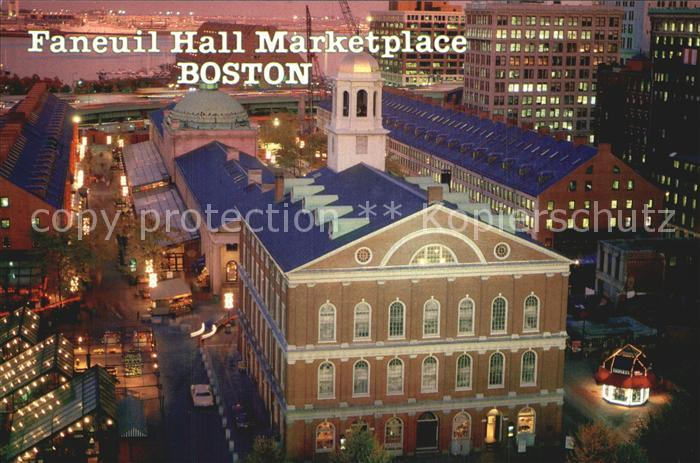 Boston Massachusetts Faneuil Hall Marketplace Kat. Boston