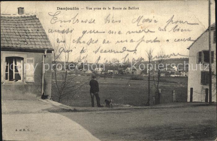 Danjoutin Vue prise de la Route de Belfort Kat. Danjoutin
