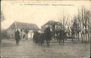 La Chapelle sous Chaux Passage de Prisonniers allemands