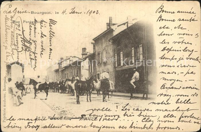 Bourgoin Jallieu Pferd Kat. Bourgoin Jallieu
