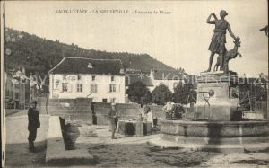 Raon l Etape Vosges Fontaine de Diane  Kat. Raon l Etape