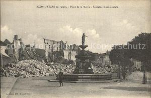 Raon l Etape Vosges Place de la Mairie Kat. Raon l Etape
