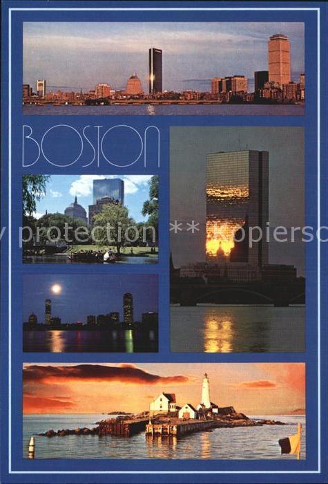Boston Massachusetts Stadtansichten  Kat. Boston