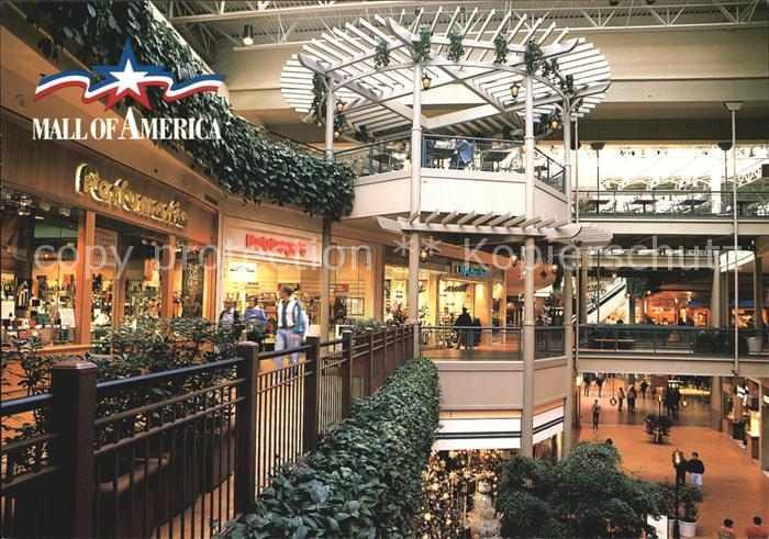 Bloomington Minnesota Mall of America  North Garden Kat. Bloomington