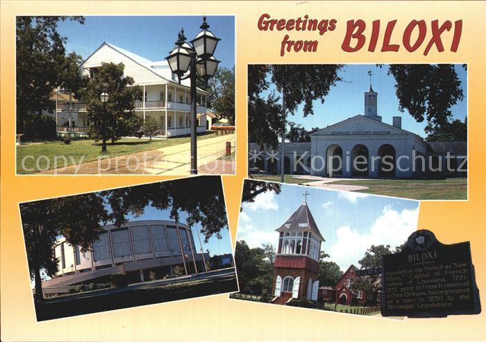 Biloxi Stadtansichten  Kat. Biloxi