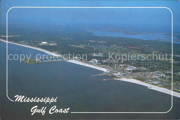 Mississippi State Fliegeraufnahme Gulf Coast Kat. Mississippi State
