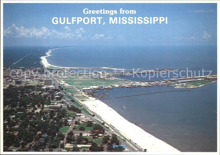 Gulfport Fliegeraufnahme Kat. Gulfport