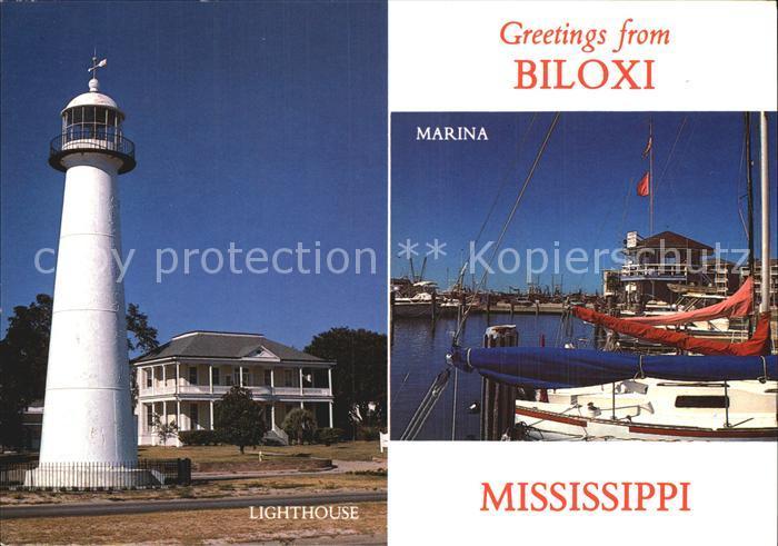 Biloxi Hafen Leuchtturm Kat. Biloxi