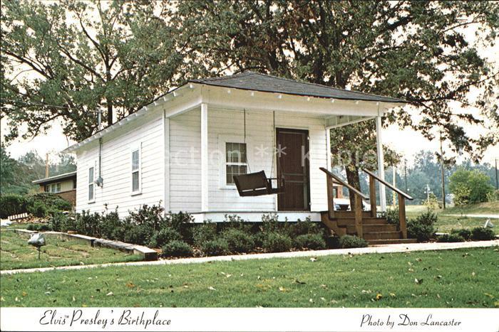 Tupelo Mississippi Geburtshaus von Elvis Presley Kat. Tupelo