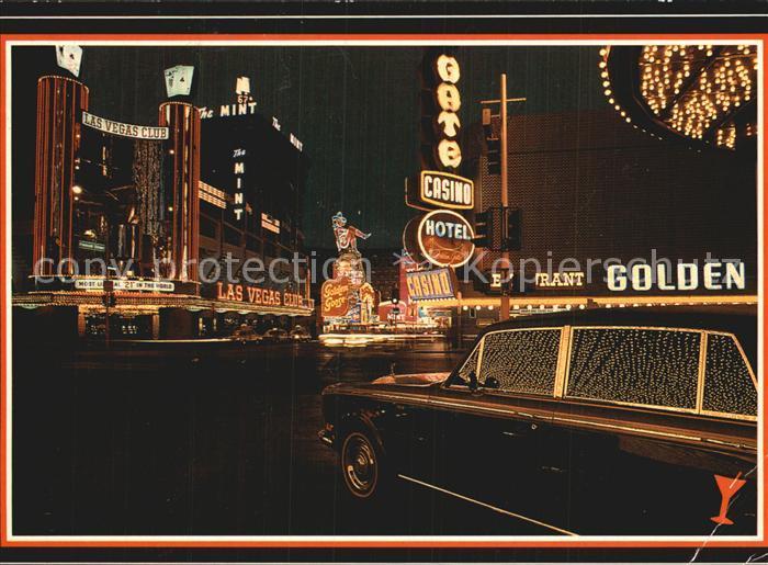 Las Vegas Nevada Nachtansicht Kat. Las Vegas