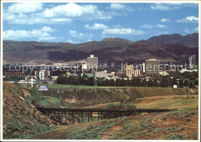 Reno Nevada Panorama  Kat. Reno