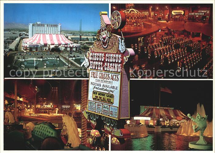 Las Vegas Nevada Circus Circus Kat. Las Vegas