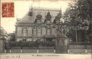 Dreux La Sous Prefecture Kat. Dreux