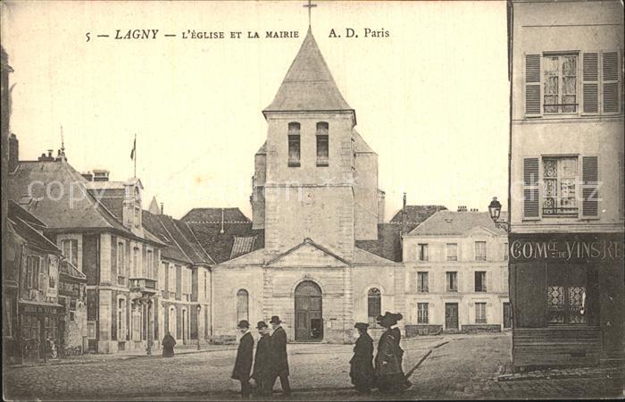 Lagny Kirche Kat. Lagny