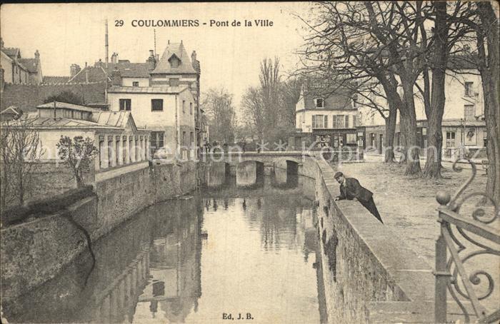 Coulommiers Pont de la Ville Kat. Coulommiers