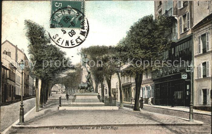 Melun Seine et Marne Denkmal Kat. Melun
