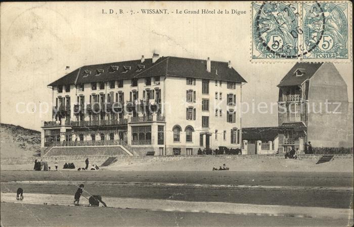Wissant Pas de Calais Grand Hotel Kat. Wissant