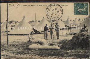 Camp de Mailly Zeltlager Kat. Mailly le Camp
