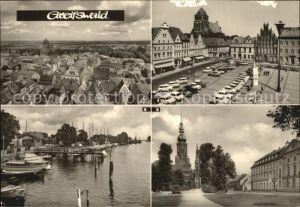 Greifswald Platz der Freundschaft Rubenow Platz