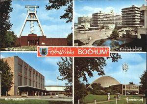 Bochum Bergbaumuseum Ruhruniversitaet Ruhrlandhalle Planetarium Kat. Bochum
