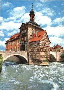 Bamberg Altes Rathaus Regnitz Kat. Bamberg