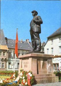 Eisleben Lutherstadt Lenindenkmal  Kat. Eisleben