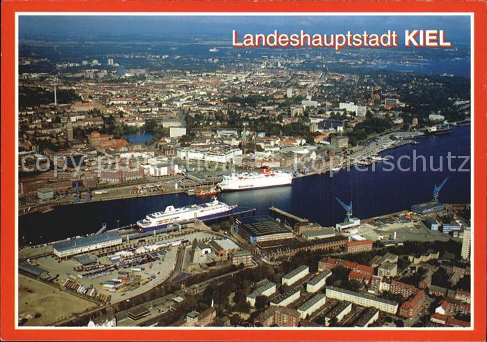 Kiel Luftaufnahme Kat. Kiel