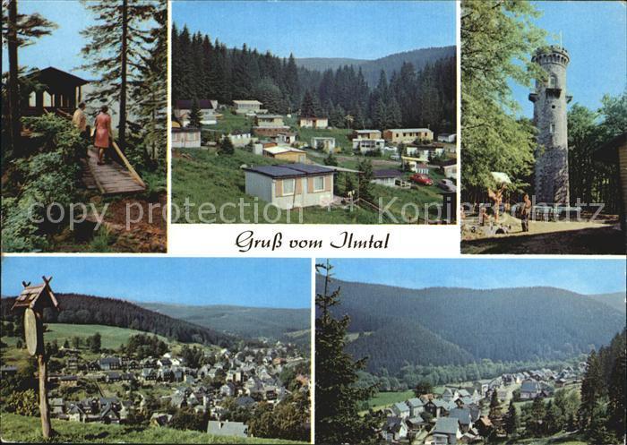 Ilmtal Schwalbenstein Campingplatz Meyersgrund Kickelhahn Manebach Kat. Ilmtal