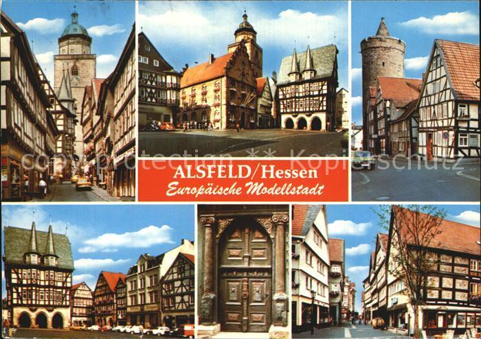 Alsfeld Modellstadt Kat. Alsfeld