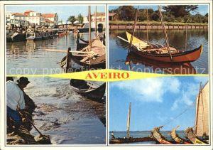 Aveiro Hafen Boote  Kat. Aveiro