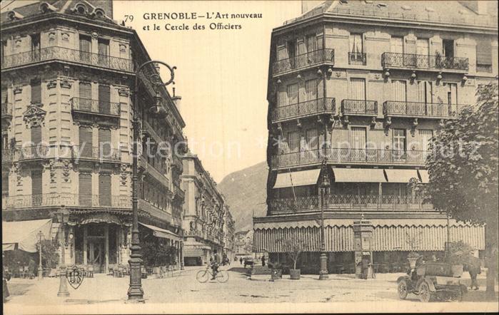Grenoble Art nouveau et le Cercle des Officiers Kat. Grenoble