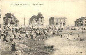 Le Croisic La plage et Port Lin Kat. Le Croisic