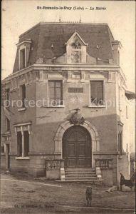 Saint Romain le Puy La Mairie Kat. Saint Romain le Puy