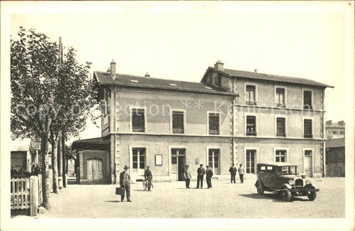 Venissieux Rhone La Gare Voiture Kat. Venissieux