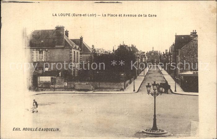 La Loupe Place Avenue de la Gare Kat. La Loupe